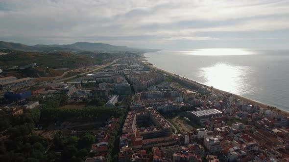Thumbnail for Barcelona and the Coast, Aerial View