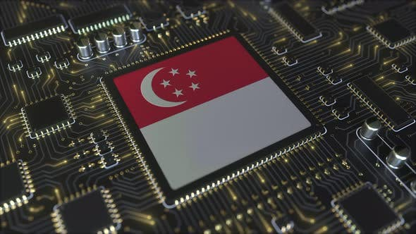 Thumbnail for Flag of Singapore on the Operating Chipset