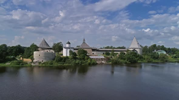 Thumbnail for Flight Around Staraya Ladoga Fortress in Russia