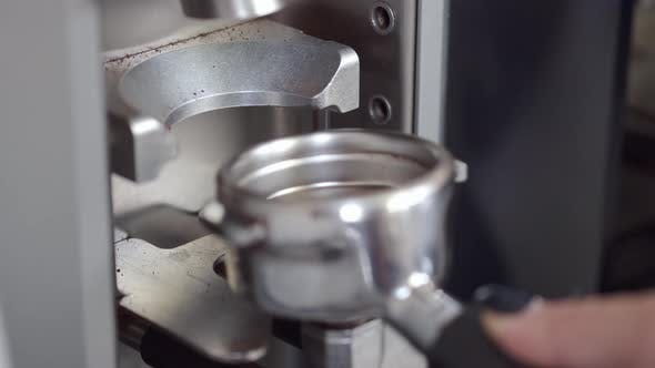 Thumbnail for Coffee Powder Being Poured Into a Filter