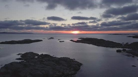 Thumbnail for Stunning Sunset Over the Horizon