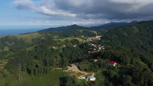 Thumbnail for Trabzon Mountains Clouds And Forest Aerial View