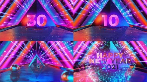 Countdown New Year Party