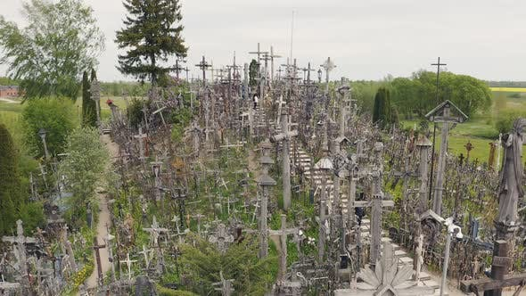 Thumbnail for Hill Of Crosses Site of Pilgrimage in Lithuania
