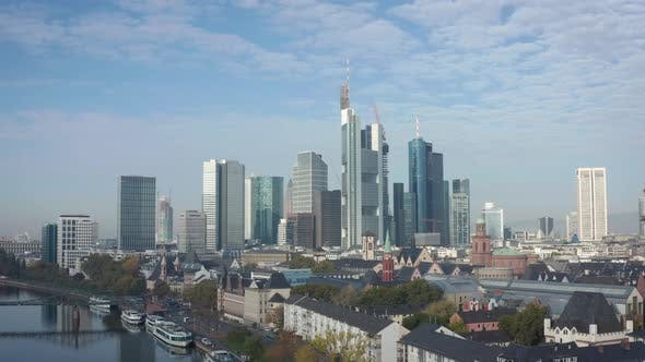 Thumbnail for Aerial Shot of the Skyline of Frankfurt am Main, Germany