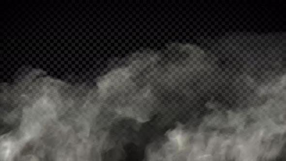 Smoke In Wind