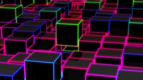 Cube Edge Neon Hd