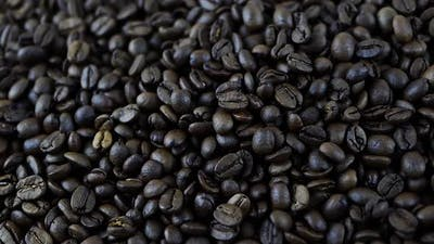 Coffee Beans In Production,Coffee Beans Roasting,Coffee Beans Close Up