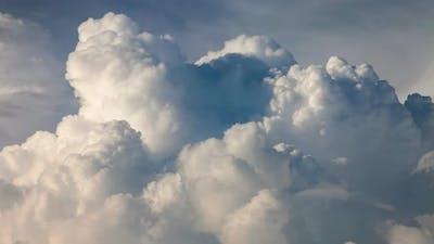 Billowing Cumulonimbus Clouds