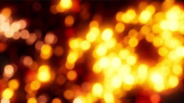 Thumbnail for Abstract Background with Moving and Flicker Particles