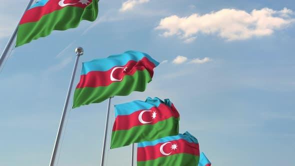 Thumbnail for Flying Flags of Azerbaijan