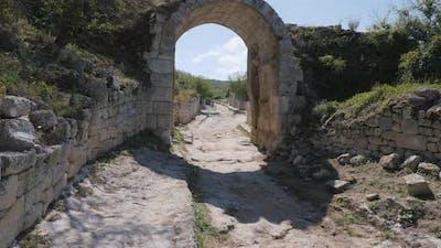 Stone Vault Gate Arch