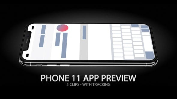 Thumbnail for iPhone 11 App & Website Preview Screen