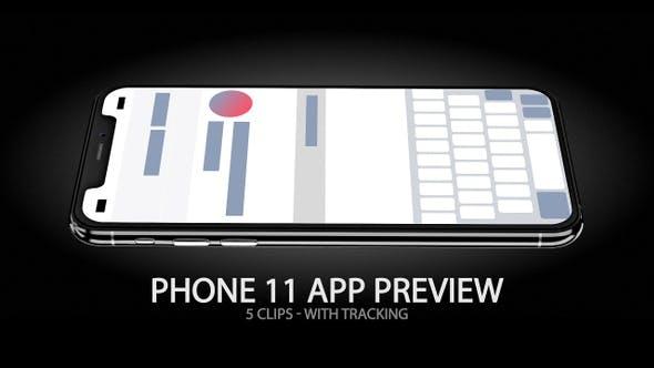 Thumbnail for iPhone 11 App & Website Vorschau