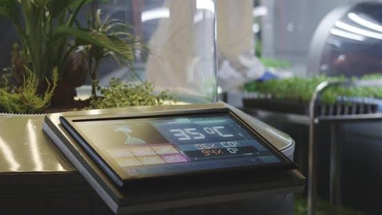 Thumbnail for Display Screen of Plant Incubator