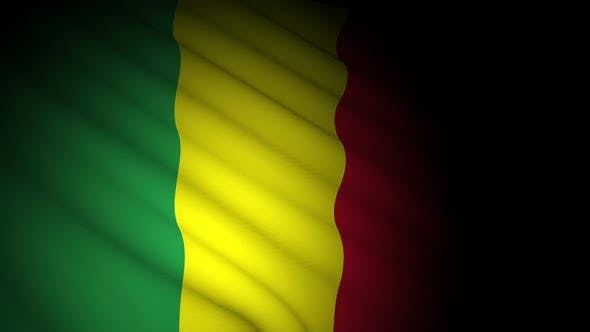 Thumbnail for Mali Flag Blowing in Wind