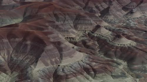 Little Painted Desert Rock Formations
