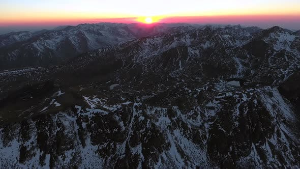 Thumbnail for Mountain Sunrise