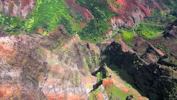 Hawaiian epic Waimea Canyon