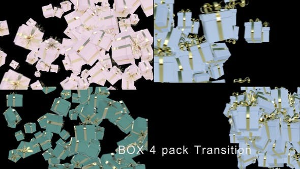 Thumbnail for Gift Boxes Transition 4K