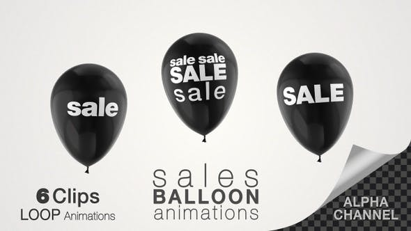 Thumbnail for Black Friday Sales Balloon