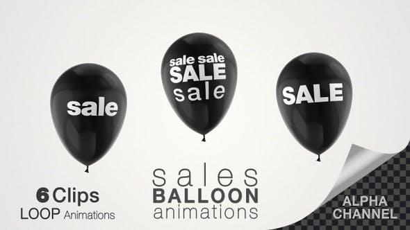 Black Friday Sales Balloon