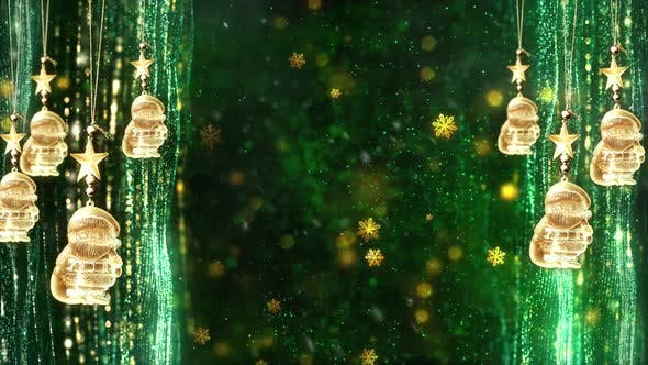 Thumbnail for Christmas Decorations Background 3
