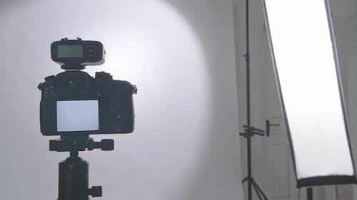 Photo Studio With Professional Equipment