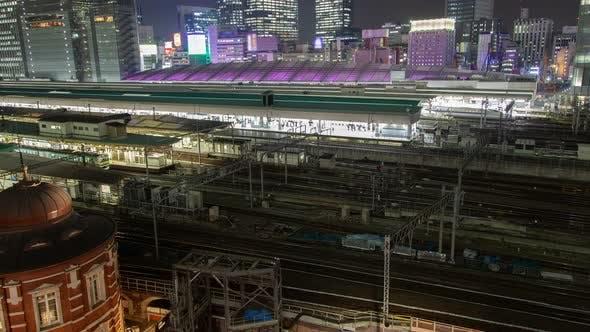 Thumbnail for Tokyo Railway Station Japan Time Lapse