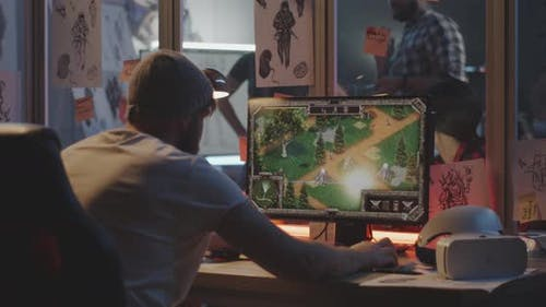 Developer Testing Video Game