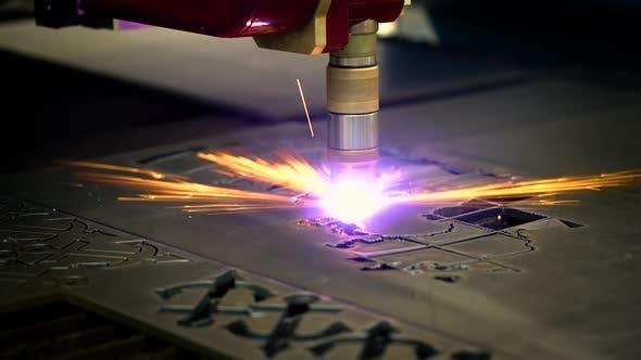 Thumbnail for CNC Laser Plasma Cutting of Metal
