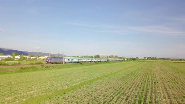 Thumbnail for High Speed Train in the Green Nature