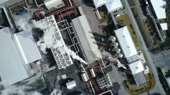 Cover Image for Industrial Manufacturing Factory From Above
