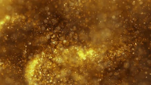 Gold Particles Loop Overlay