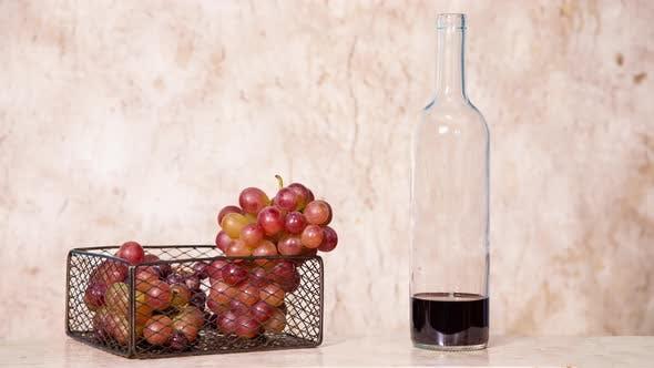 Wine making animation