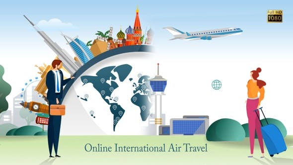 Online International Air Travel