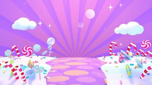 Purple Candy World