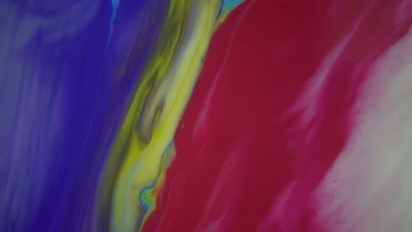 Thumbnail for Colored Liquid Paints Blending