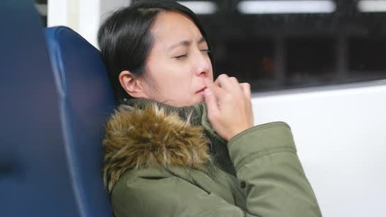 Thumbnail for Woman Feeling Sick on Taking Ferry
