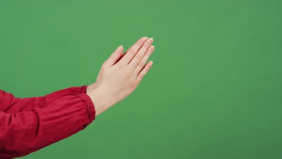 Thumbnail for Side view of hands praying