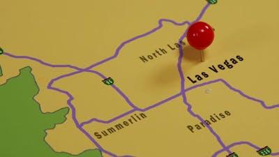 Map Of Las Vegas 01
