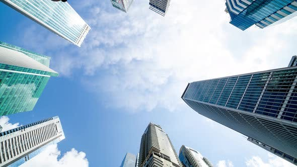 Thumbnail for Clouds Above Modern Building