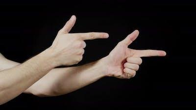 The finger gun