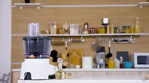 Modern Empty Kitchen