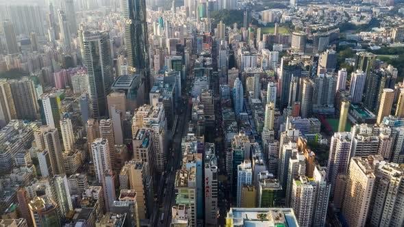 Thumbnail for Aerial view of Hong Kong city
