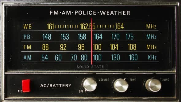 Thumbnail for Great retro radio with police band