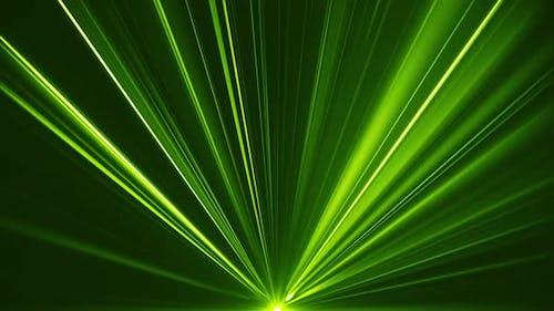 Vj Grün Laserstrahlen