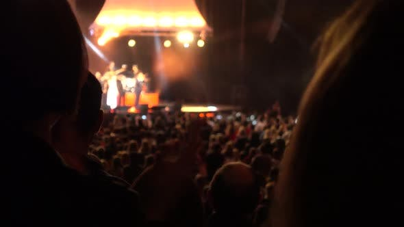 Thumbnail for Clapping Concert Crowd