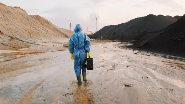 Thumbnail for Ecology Expert Inspecting Polluted Zone