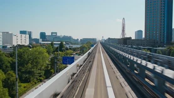 Thumbnail for Yurikamome Transit System in Odaiba of Japan